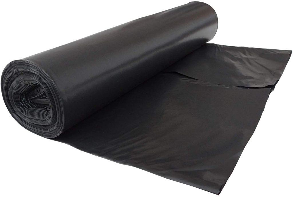 schwarze Müllsäcke