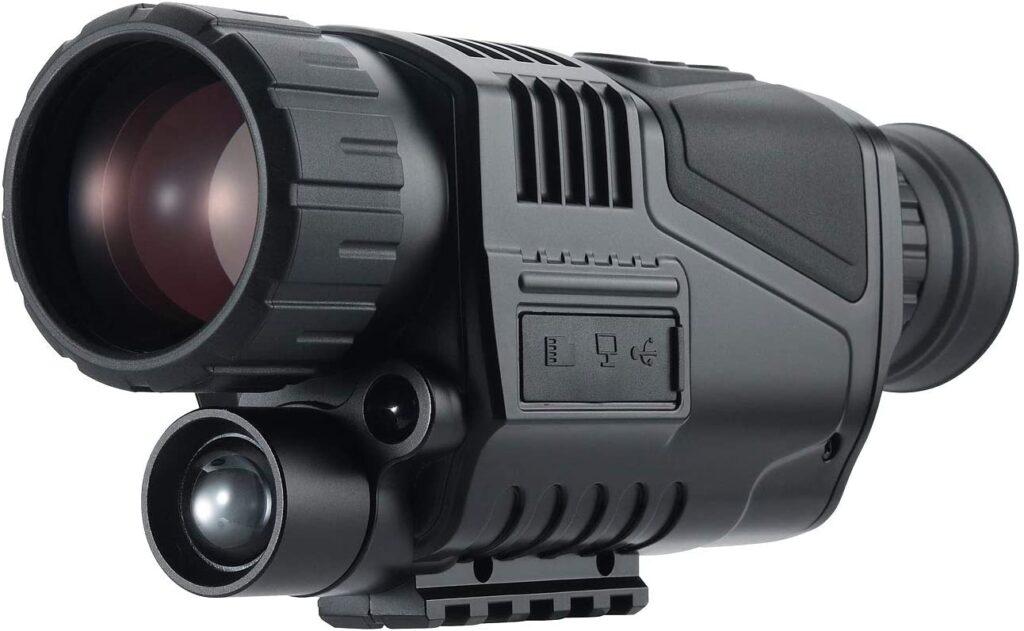 Zavarius Nachtsichtkamera: Monokulares HD-Nachtsichtgerät, bis 50 m, 4-fache Digital-Vergrößerung (Monocular) Sicht bis zu 300 m, Gray Man – Strom, Licht und Kommunikation in einem Blackout